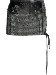 sequined micro skirt Anthony Vaccarello
