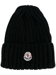 шапка-бини с нашивкой Moncler