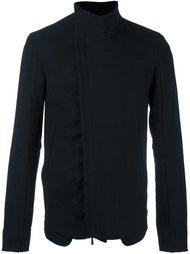 асимметричная куртка с воротником-стойкой Masnada