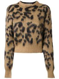 пуловер с леопардовым принтом Toga