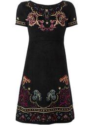 платье с принтом Ganesha Roberto Cavalli