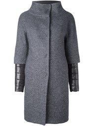 двухслойное дутое пальто Herno
