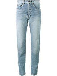 джинсы с высокой талией Saint Laurent