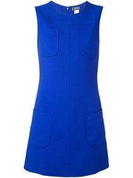 платье А-силуэта без рукавов Versace Vintage
