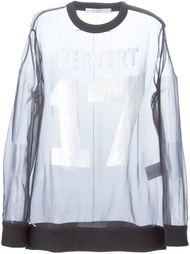 топ 'Pervert 17' Givenchy