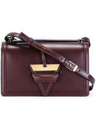 сумка через плечо с треугольной деталью Loewe