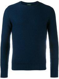 фактурный свитер  Incotex