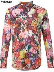 рубашка с цветочным принтом Comme Des Garçons Homme Plus