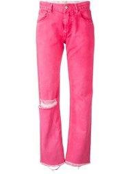 свободные джинсы с бахромой Alyx