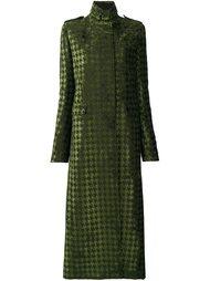 приталенное пальто в ломаную клетку Haider Ackermann