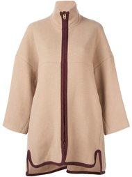 пальто с контрастной молнией Chloé