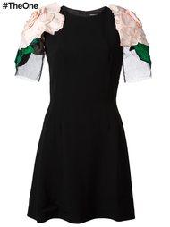 платье с аппликацией  Dolce & Gabbana