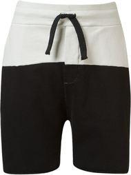 sweat drawstring bicolor shorts Osklen