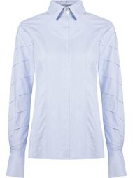 stripe panel shirt Giuliana Romanno