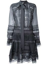 полупрозрачное платье-рубашка Ermanno Scervino