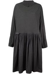 плиссированное платье свободного кроя Rundholz