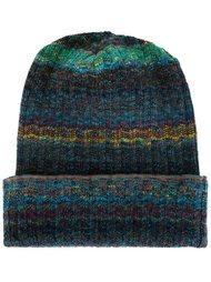 шапка-бини 'Zig Zag & Stripe Mix Knit' Missoni