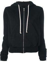 exaggerated sleeve hoodie Rick Owens DRKSHDW