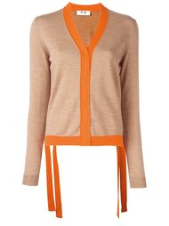 colour block cardigan MSGM