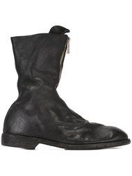 армейские ботинки на молнии Guidi