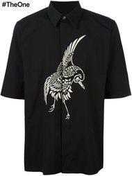 рубашка с вышивкой птицы Ports 1961