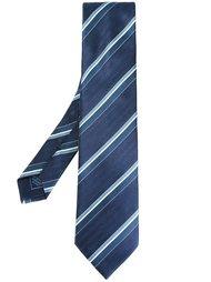 галстук в полоску Brioni