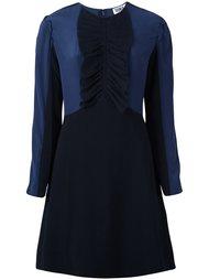 приталенное платье с драпировкой Sonia By Sonia Rykiel