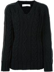 свитер с косами Giada Benincasa