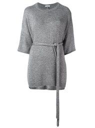 свитер с поясом  Brunello Cucinelli