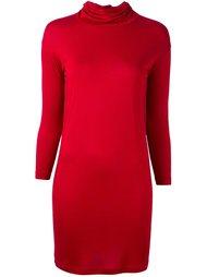 платье с отворотной горловиной  Mm6 Maison Margiela