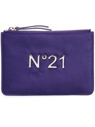 сумка с аппликацией-логотипом Nº21