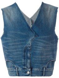 джинсовый жилет Maison Margiela