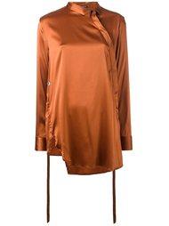 блузка асимметричного кроя Ann Demeulemeester