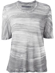 scoop neck knitted top Raquel Allegra