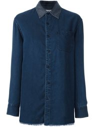 contrasting collar denim shirt Rag & Bone /Jean
