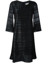 трикотажное платье с отделкой металлик L'Autre Chose