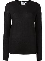 свитер с круглым вырезом   Jil Sander