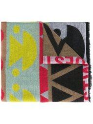 шарф вязки-интарсия  Walter Van Beirendonck