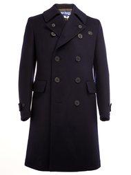 buttoned lapels double-breasted coat Junya Watanabe Comme Des Garçons Man