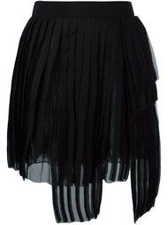 асимметричная плиссированная юбка Dsquared2