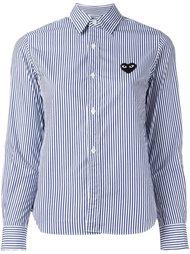 рубашка в полоску с нашивкой Comme Des Garçons Play