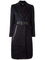 пальто с поясом Misbhv