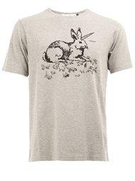 'rabbit' print T-shirt Undercover
