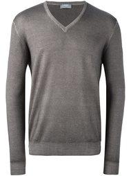 пуловер с V-образным вырезом Barba