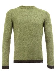 contrast trim knit sweater The Elder Statesman