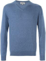 свитер с V-образным вырезом Canali