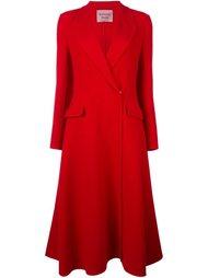 пальто с рюшами Lanvin