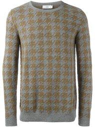 свитер с узором в ломаную клетку Closed