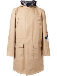 boxy hooded coat Raf Simons