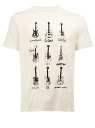 guitar print T-shirt The Soloist